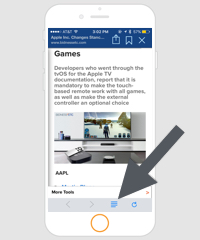 Avoid Mobile Page Clutter When Reading News By Doing This